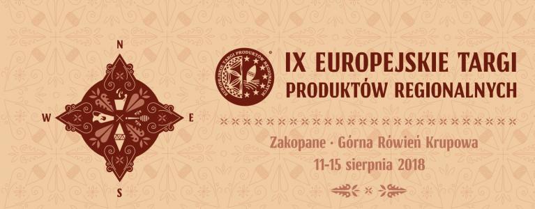 9. Europejskie Targi Produktów Regionalnych
