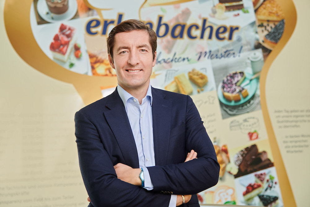 Nowy dyrektor generalny erlenbacher backwaren