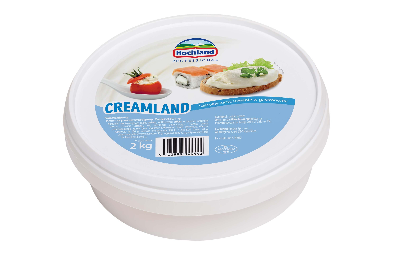 Hochland Creamland – kremowy ser twarogowy