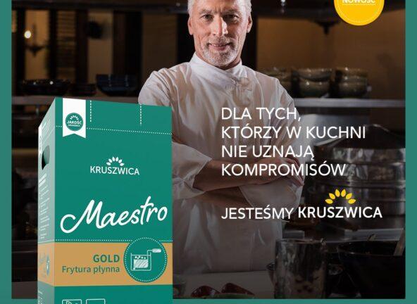 Maestro Gold - dla tych, którzy w kuchni nie uznają kompromisów