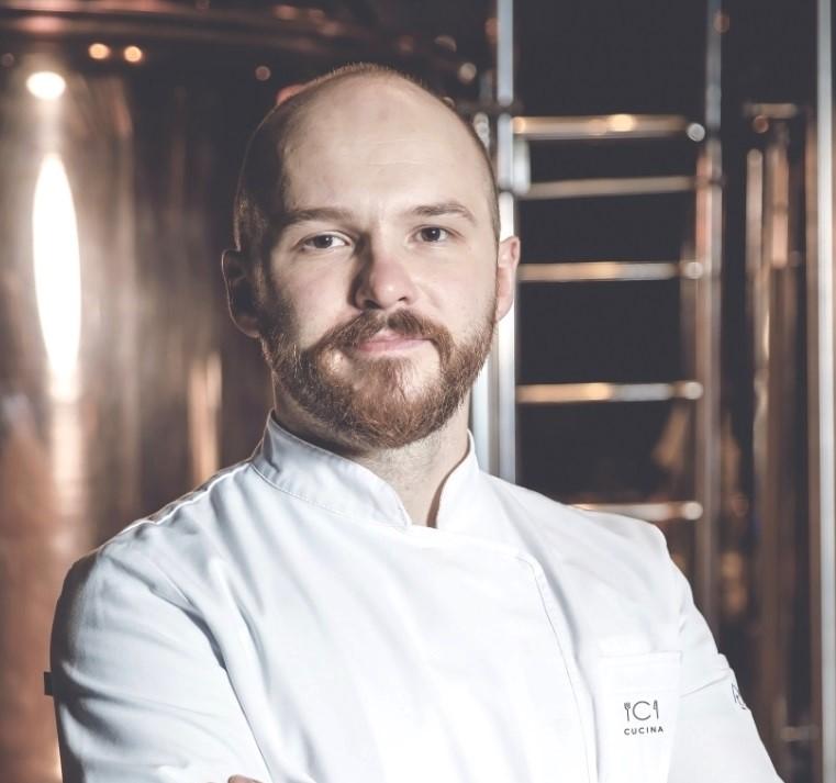 Artur Szwacki nowym szefem kuchni w restauracji Cucina