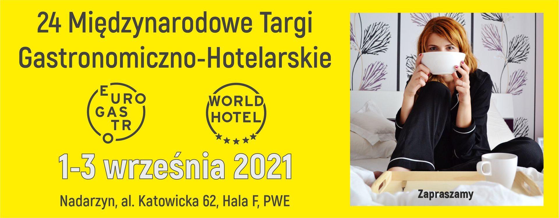 Zmiana terminu targów EuroGastro i WorldHotel