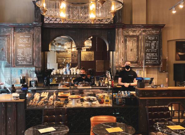 Nowa kawiarnia Green Caffè Nero w Krakowie