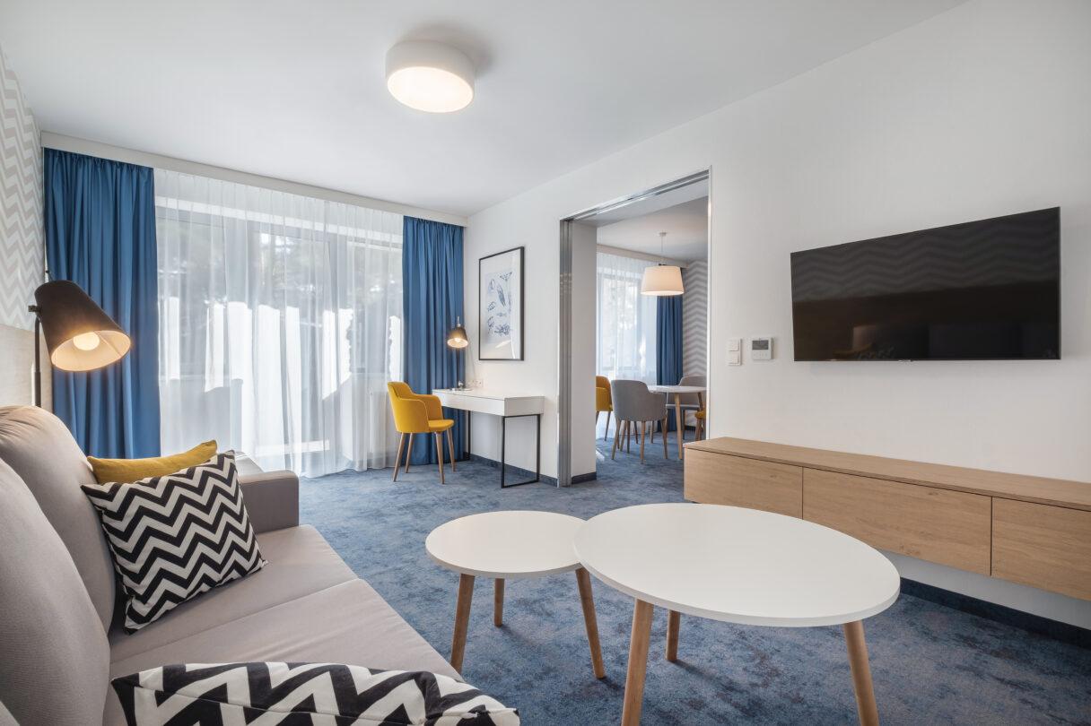 Nowa odsłona pokoi hotelowych w Melodii w Juracie
