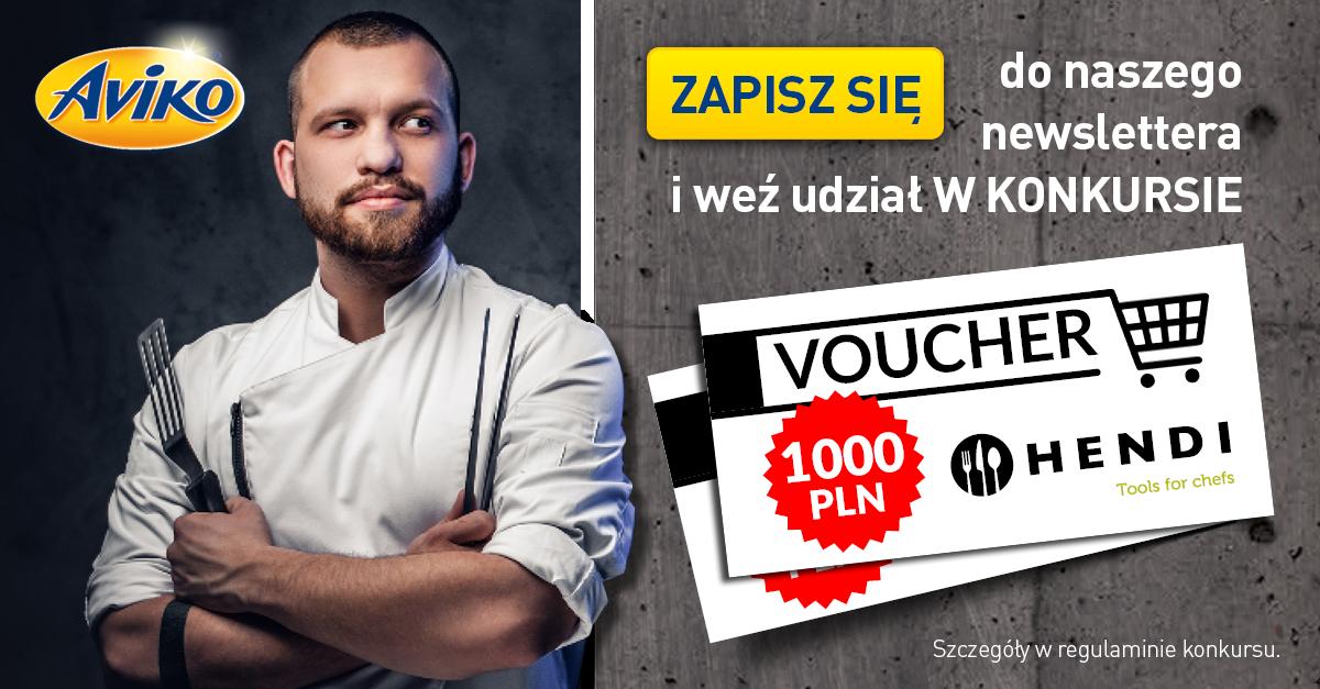 Newsletter i konkurs Aviko dla gastronomii