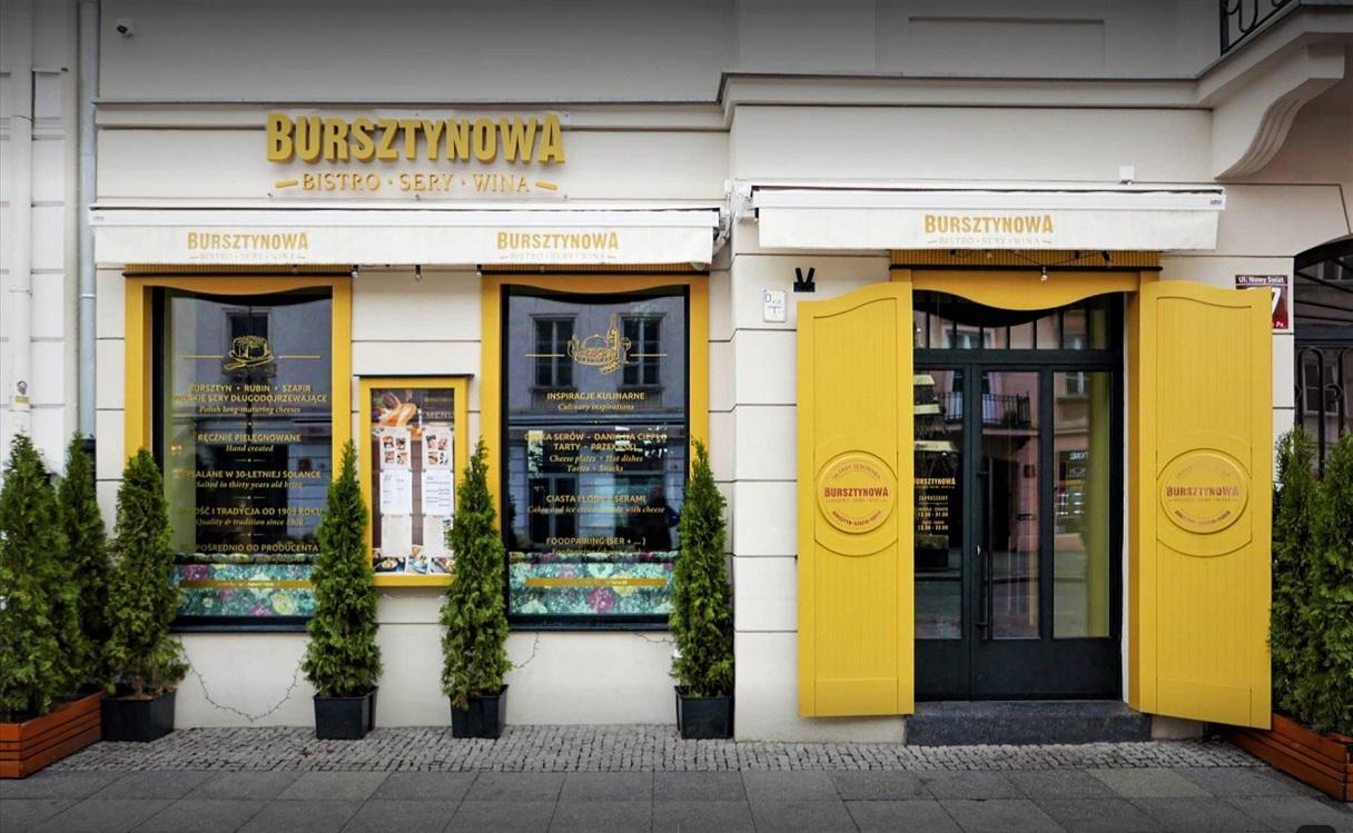 Restauracja Bursztynowa i sery w sercu Warszawy