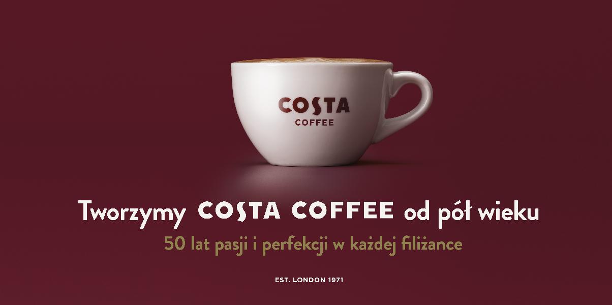 Rusza jubileuszowa kampania Costa Coffee