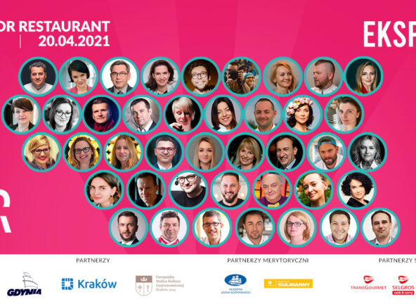 TOP 20 Restauratorów na wirtualnej scenie Made For Restaurant 2021