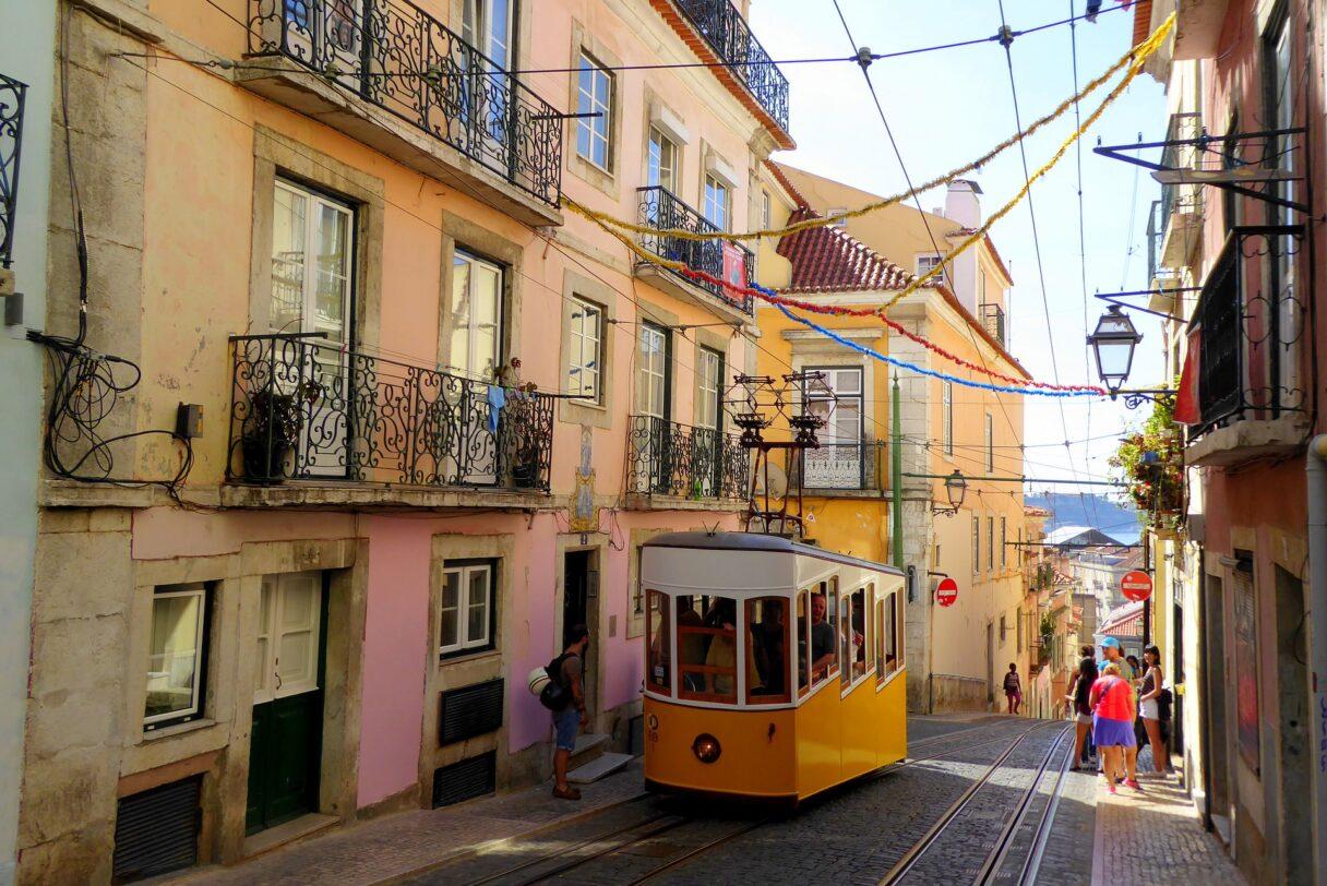 Elektroniczne napiwki w Lizbonie