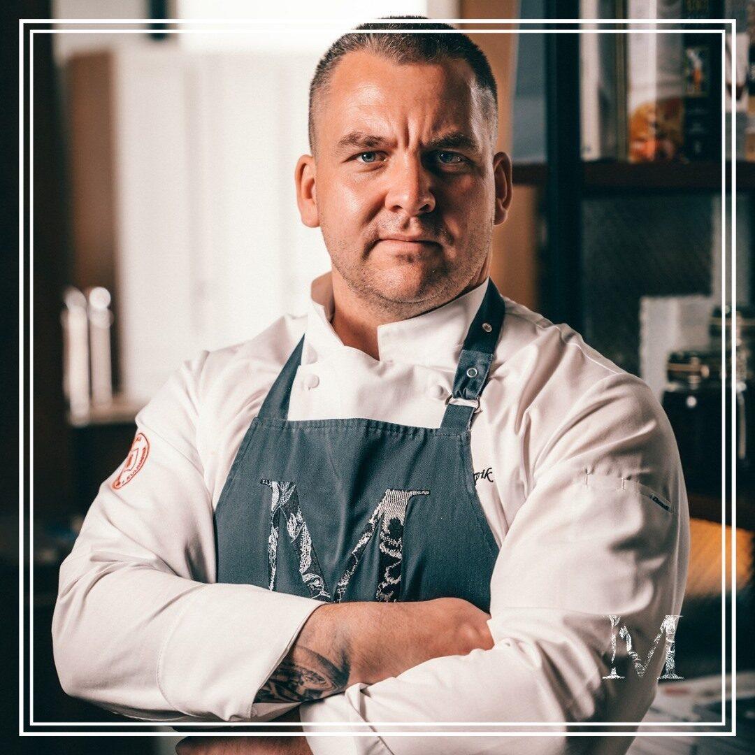 Dominik Karpik szefem kuchni w Mercato Restaurant