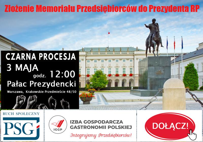 3 maja w Warszawie Czarna Procesja – Memoriał Pominiętych i Wykluczonych