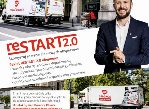 Inauguracja Restart 2.0 – kolejna edycja programu wszechstronnego wsparcia dla gastronomii