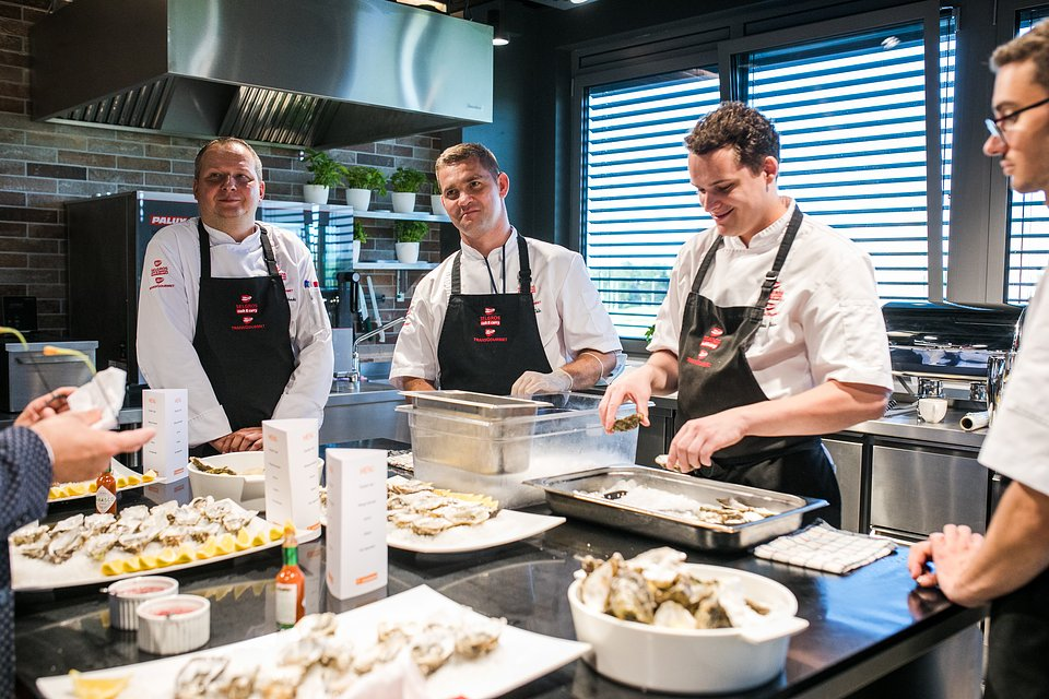 Wspólne świętowanie Made For Restaurant w Instytucie Kulinarnym Transgourmet