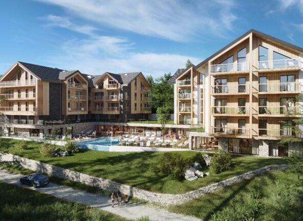 Nowy hotel Holiday Inn Resort w Szklarskiej Porębie