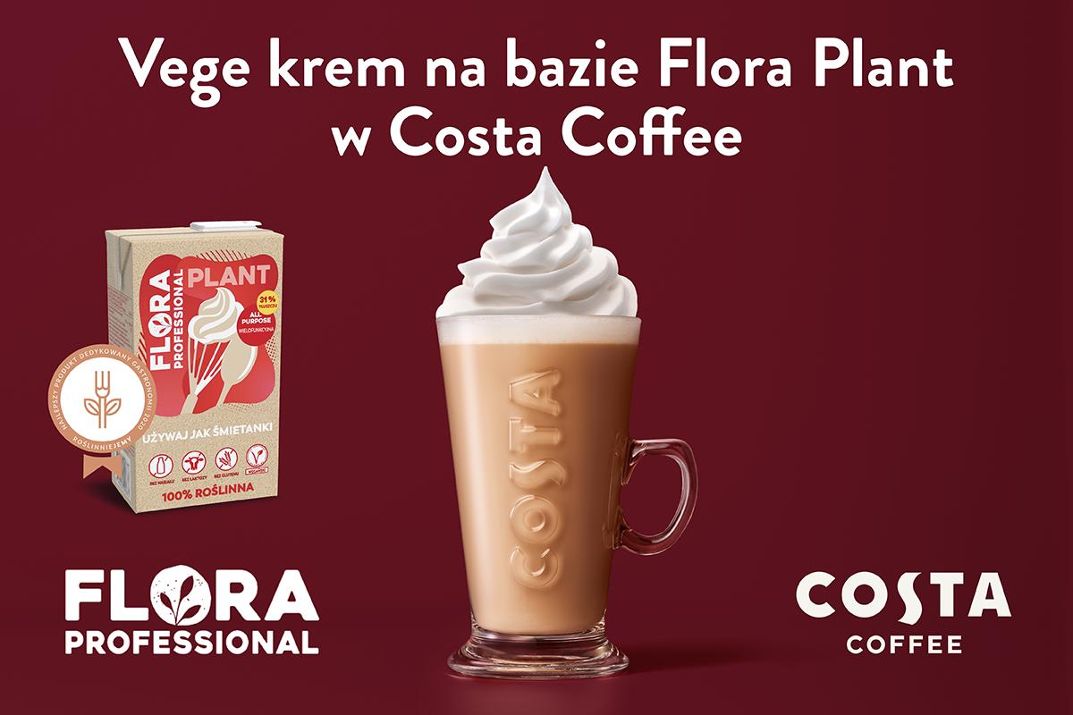 Produkty Upfield Professional na stałe w sieci kawiarni Costa Coffee w Polsce