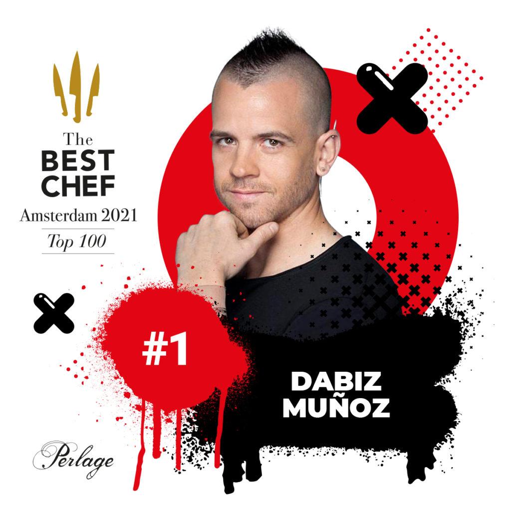 Top100 wygrywa szef kuchni Dabiz Muñoz