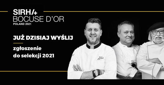 Do 15 września zgłoszenia do Bocuse d'Or Poland 2021