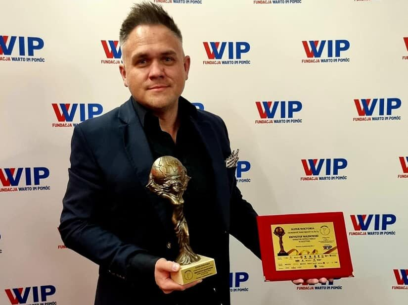 Krzysztof Malinowski nagrodzony